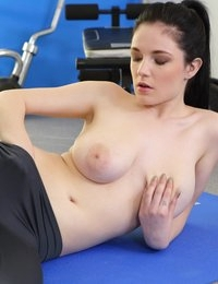 Explicit Revelation from a Busty Gymnast