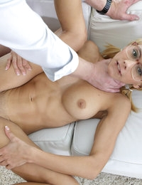 Nerdy Blonde Fucks like a Pro