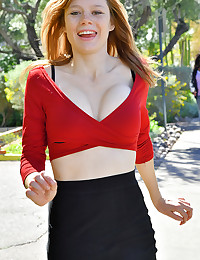 Upskirt In Red