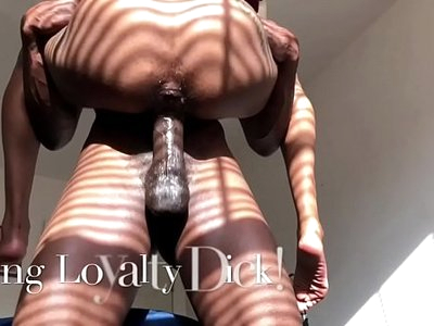 Teen Royalty Rides Horse Cock in Tight Fat Pussy