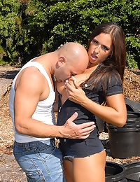 amazing porn star Lexxxy gets drilled hard in her perfect box outdoors in these camping fucking amazing hot pics