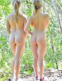 FTV Girls Nicole And Veronica Horny Nude Hikers - FTVGirls.com