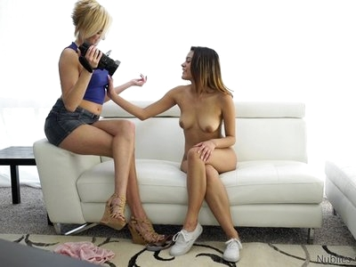 Saucy Latina Josie Jagger shows off her sensuality and sexuality when she is interviewed by Kate England