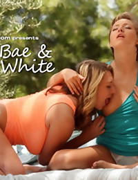 Brooke White & Bailey Bae spend time together on a warm summer afternoon