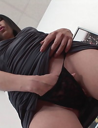 Asian Babe shared between two horny lads