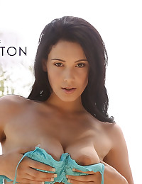 Noelle Easton takes an afternoon to herself