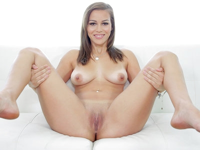 Special cock delivery with cum all over sweet Karter Foxx 's face