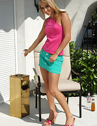 SMOKING LOUNGE with Alexa Diamond - ALS Scan photo #2