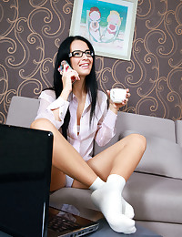 Lola Marron nude in erotic POALLIERI gallery - MetArt.com photo #4