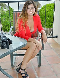 Gorgeous In Red photo #16