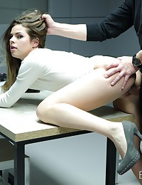 Smart Security Guard Fucked a Hot Beauty photo #10