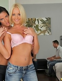Euro Sex Parties™ Presents Athina in Cheek To Cheek! - Movies And Pictures  photo #3