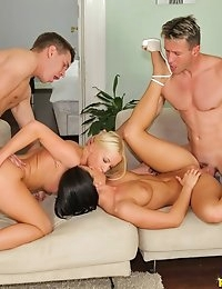Euro Sex Parties™ Presents Athina in Cheek To Cheek! - Movies And Pictures  photo #10