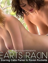 Nude Pics Of Raven Rockette, Catie Parker In Hearts Racing - Babes.com photo #10