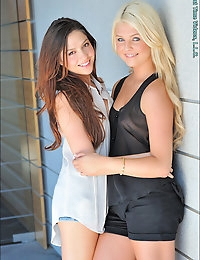 Blonde and Brunette photo #4
