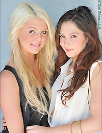 Blonde and Brunette photo #6