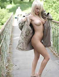 Extra sweet tits outdoor photo #18