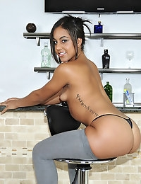 Jazmin Beach Juicy Jazmin Sexy latina newbie girl get her first time huge cock in her wet mouth and pussy @ FirstTimeAuditions photo #5