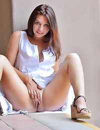 FTV Girls Ariana Innocent In White - FTVGirls.com photo #10